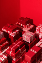 Red Themed Presents