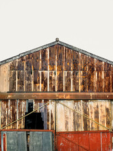 Corrugated Steel Barn