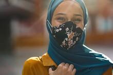 Woman Wearing Hijab Portrait