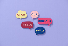 Foreign Languages Greeting Worldwide Concept