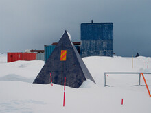 Carbon Capture Storage - Abandoned Climate Change Engineering Geoengineering Site