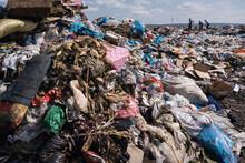 Plastic Pollution In Landfill
