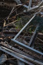 Wreckage Detail In A Demolition Site