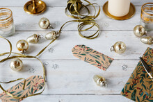 Christmas Accessories And Baubles.