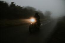 Misty Motorbike Ride