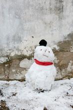 Funny Snowman