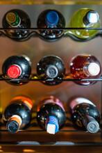 Wine Bottles Arrangement