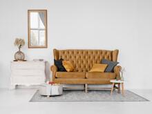 Interior Of Elegant Living Room