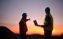 Construction Business - Engineers Checking Site
