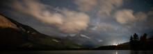 Night View Of Gap Lake