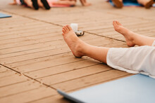 Closeup Of Yoga