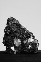 Smoky Quartz And Hematite - Raw Mineral Stone