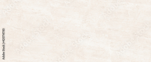 Leinwand Poster Light marble texture background with high resolution Italian slab marble for int