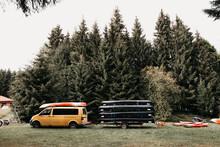 Kayak Transport With Trailer
