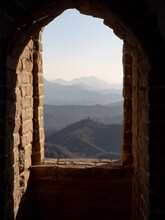 Window In The Sky From Chinese Wall