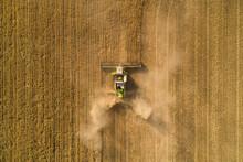 Dusty Barley Harvest