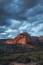 Blue Hour In Arizona