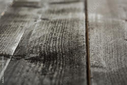 assi di legno isolati Fototapet