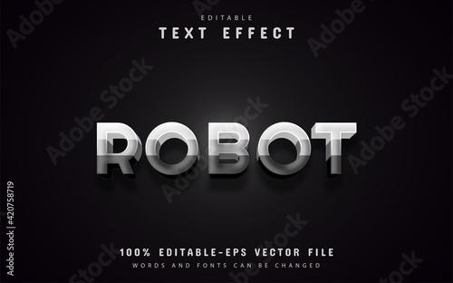 Robot text effects