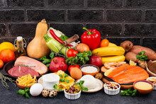 Mediterranean Diet. Healthy Balanced Food