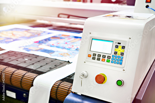 Canvas Laser cutting machine for fabric