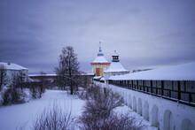 Winter Time In Vologda, Russia.