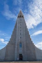 Hallgri_mskirkja Lutheran Church, Reykjavik, Iceland
