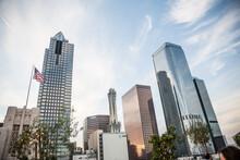 Skyscraper Skyline, Downtown Los Angeles, California, USA