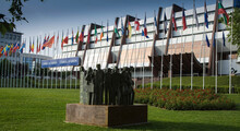 Palace Of Europe, Seat Of Council Of Europe, Strasbourg, France