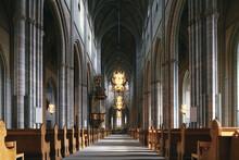 Interior Of Uppsala Cathedral, Uppsala, Sweden