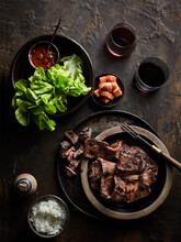 BBQ Galbi (korean Bbq Beef Short Ribs)
