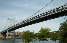 Puente Robert F. Kennedy Que Une Astoria Con La Isla Randall. Nueva York, EUA