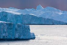 Icebergs, Ilulissat Icefjord, Greenland