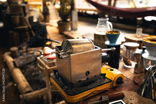 Fotografija Home-made Home-made coffee roasters