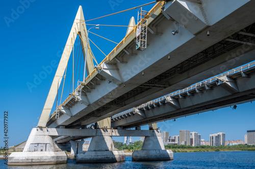 Fototapeta premium Cable-stayed bridge