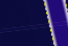 Dark Blue And Dark Purple With White And Black And Orange Thin Linear Reflections
