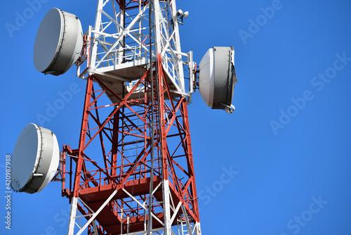 Antenne per la telecomunicazione Fotobehang