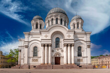 Church Of St. Michael The Archangel In Kaunas, Lithuania