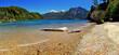 canvas print picture - Lakeside in Bariloche, Argentina