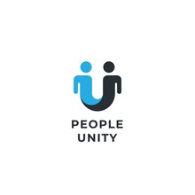 Human Social, Together, Unity And People Logo Concept
