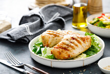Grilled Chicken Breast, Barbecued Meat