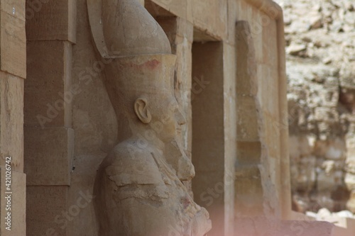 Canvas Print Luxor, Egypt: Ancient Temples and Sculptures
