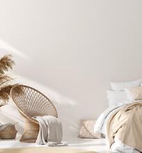 Mock Up In Home Interior Background, Scandinavian Style, 3d Render