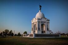 Pennsylvania Monument In Gettysburg National Military Park.