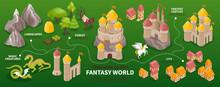 Fantasy World Infographics