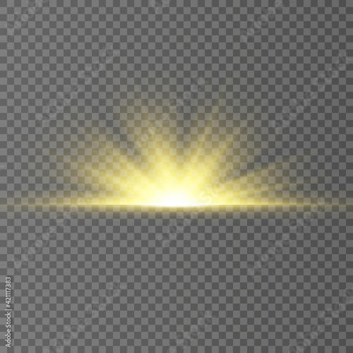 Fotografie, Obraz Special design of sunlight or light effect