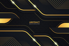 Premium Modern Abstract Luxury Gold Background With Diagonal Composition