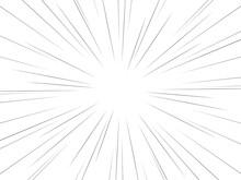 集中線 ベクター素材