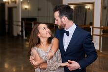 Adult Couple Dancing Classical Partner Dance