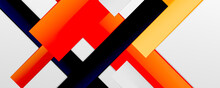 Color Abstract Lines Trendy Geometric Background For Business Or Technology Presentation, Internet Poster Or Web Brochure Cover, Wallpaper